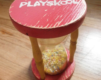 Playskool hourglass
