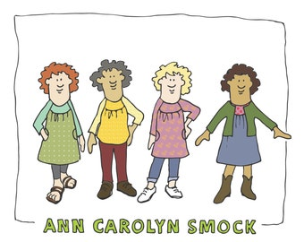 Ann Carolyn Smock Pattern