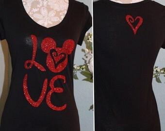 Love (WOMEN'S) Tank top, t-shirt or long sleeve