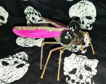 Spark Plug Art Bug