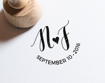 Custom Monogram Design • Wedding monogram • Wedding logo • DIY wedding