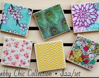 Shabby Chic Collection | Ceramic Coasters