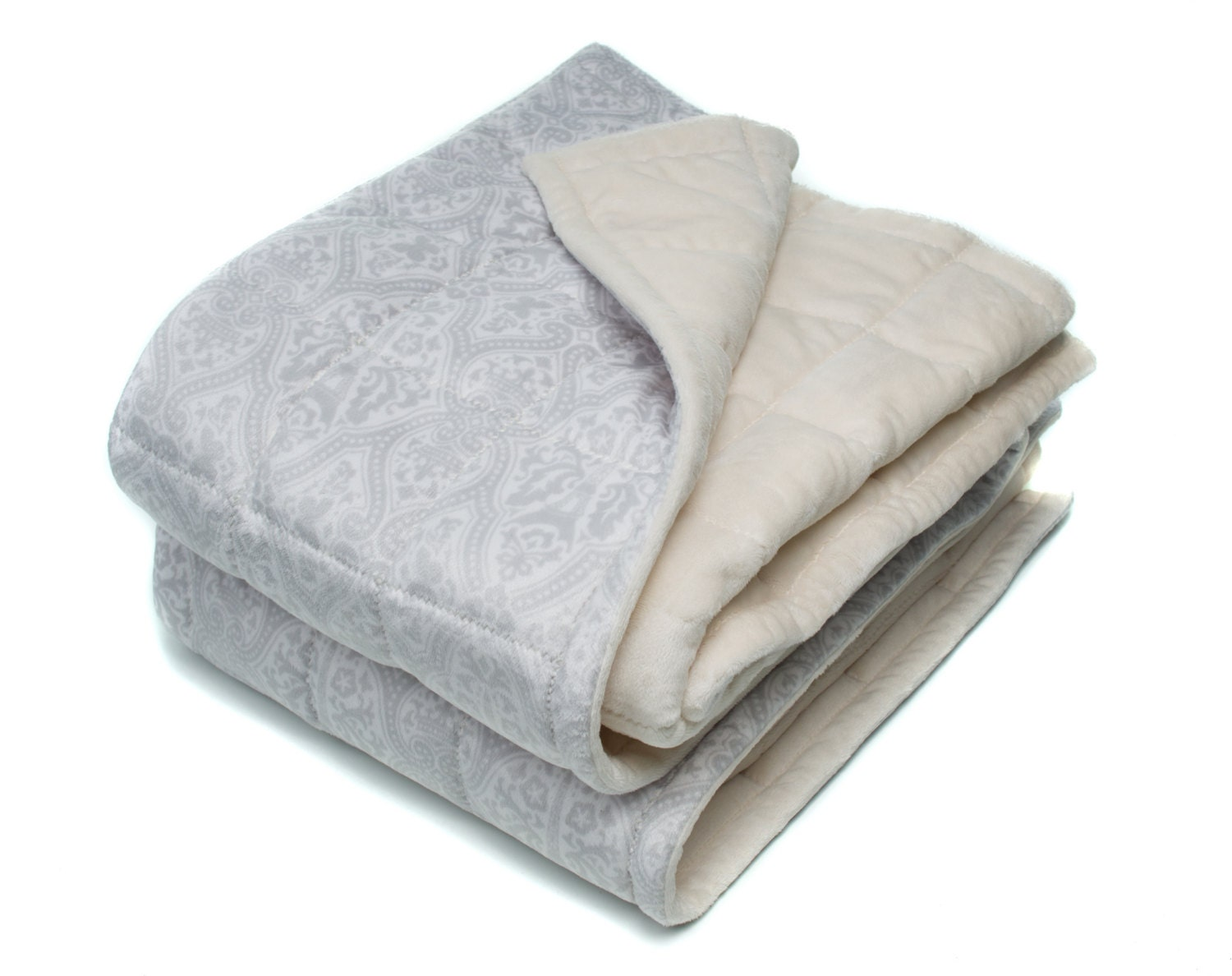 Adult Weighted Blanket Double Minky Weighted Blanket 40x60