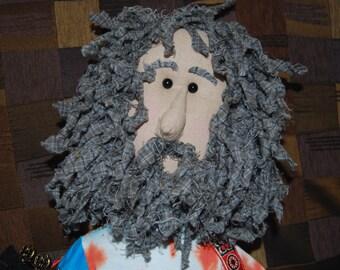 Hempie, 60's character, Hemp Cloth Doll