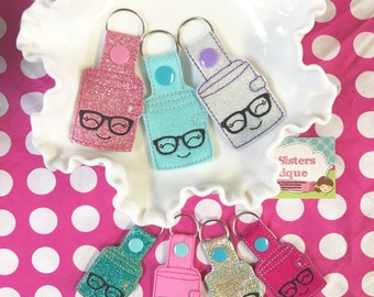 Planner charm/ key fob / key chain- choose colors!