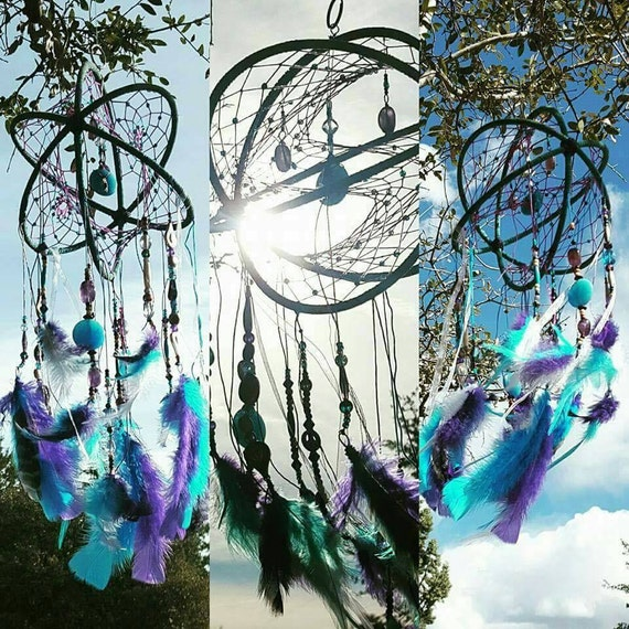 Custom Dream Catcher, one-of-a-kind- unique- made to order- handmade- Personalized- Any shape size color theme