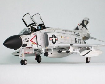 F4 Phantom - Painted model - Handmade from plastic material