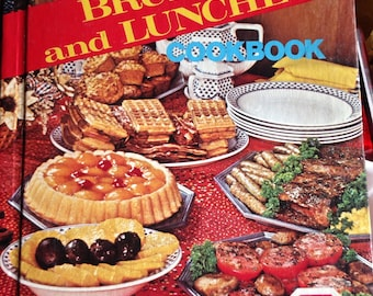 Vintage Cookbook 1978, brunches and lunches