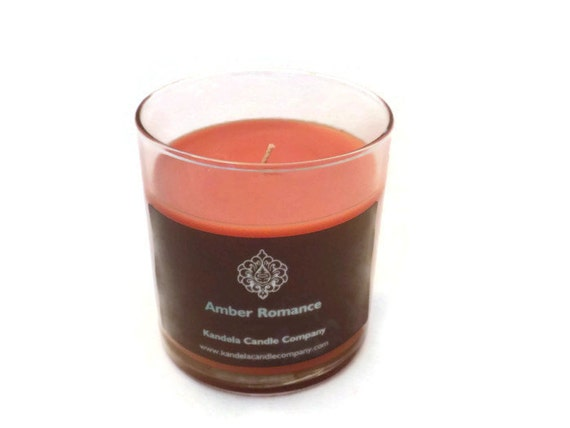 Amber Romance Scented Candle in 13 oz. Straight Tumbler