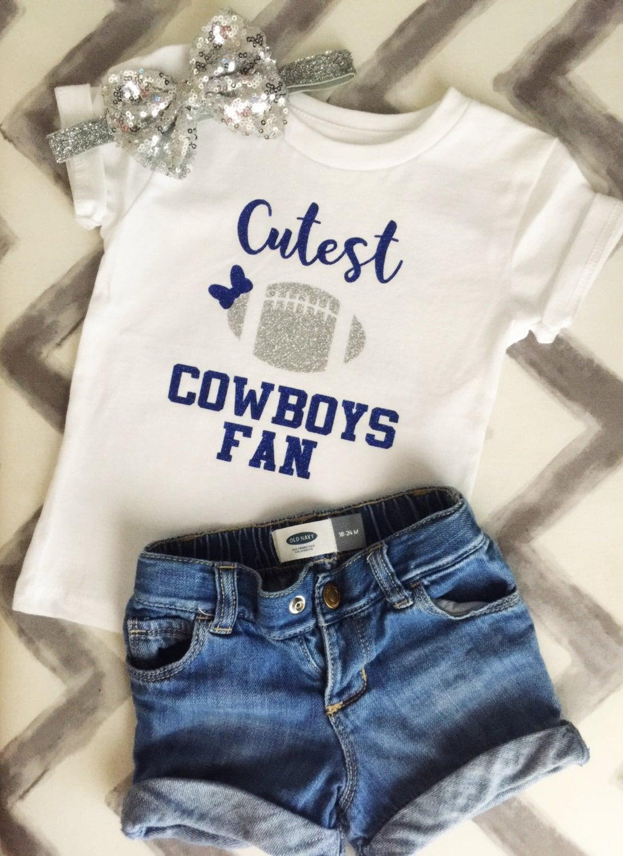 Shirt design dallas tx - Dallas Cowboys Shirt Cutest Cowboys Fan Dallas Texas Football Shirt Glitter Cowboys Football Toddler Shirt Girl Dallas Cowboys