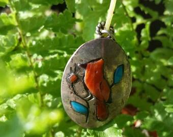 Red Robin Handmade Pendant