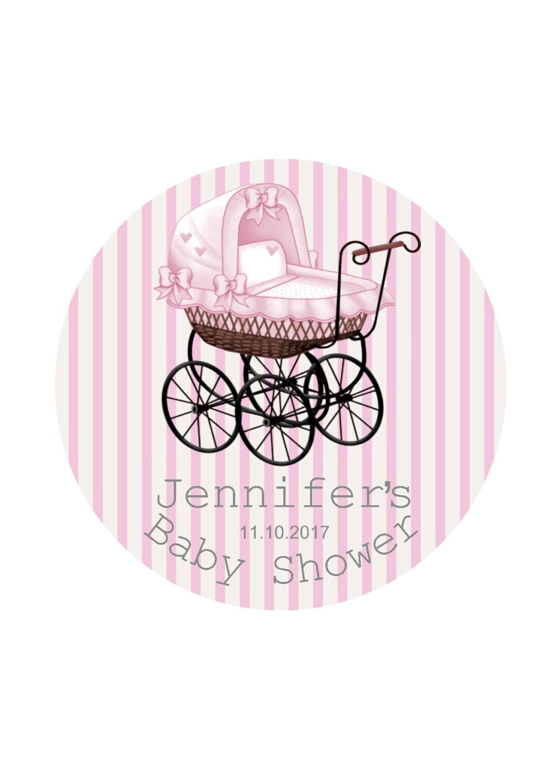 Personalized baby shower tags baby shower stickers favor for Shower favor tag