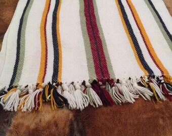 Custom made throw rugs