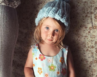 Chunky Knit Textured Beanie {Billie Blu}