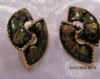Vintage Earrings - Pierced