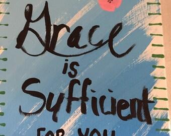 Grace - Encouragement Canvas