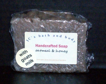 Natural Soap with Goat's Milk  4.6+ ounces