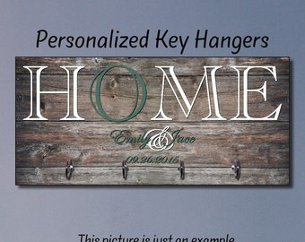 Gift Ideas, Wedding Gift, Anniversary Gift, Housewarming Gift, New Home Gift, Home Decor, Wall Decor,Key Holder,Key Hanger, Closing Gift