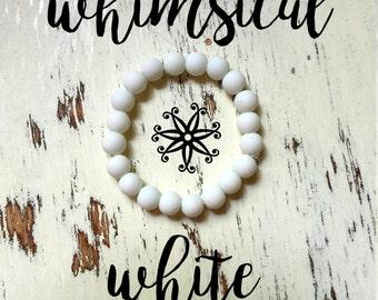 Inner-Beauty Bracelet - Whimsical White