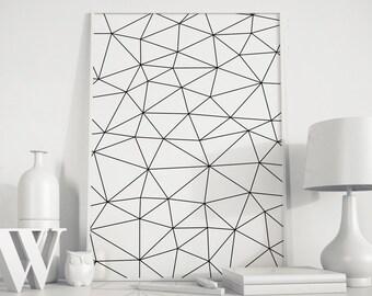 Minimalist poster, Geometric print, Scandinavian art, Abstract Art, Geometric art, modern minimalist, office art, minimalist art, modern art