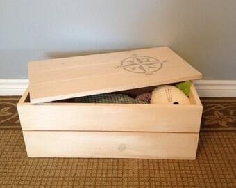 storage box, toy box, storage crate