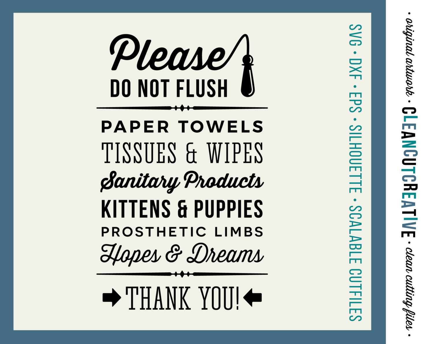 Do Not Flush Hopes Amp Dreams Funny Toilet Quote Svg Studio3
