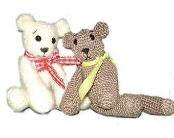 Pattern, Teddy Charles, crochet pattern