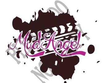 Mud Angels SVG, Mud Splatter