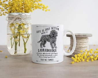 Labradoodle Mug ~ Perfect Gift can be personalised