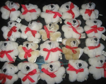 Twenty - 3 inch Teddy Bears