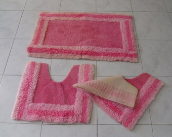 Vintage tappetini per bagno tappeti da bagno carta di di - Tappetini per bagno ...