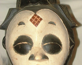 Punu Mask and Doll