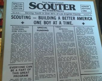Boy Scouts of America Framed Tile