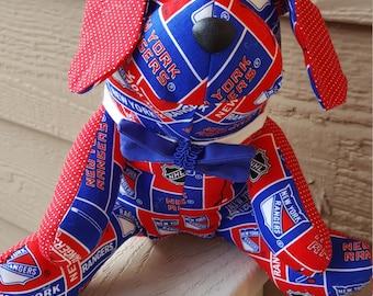 New York Rangers Hockey Dog
