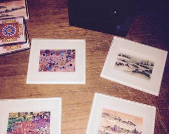 Madarts Fine Art Coaster Set