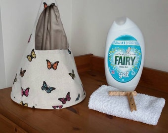 Butterfly peg bag
