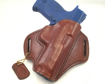 S & W MP .45 - Ready to Ship - Handcrafted Leather Pistol Holster