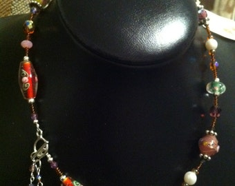 Butterfly Lariat Necklace