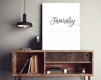 2017 Printed Calendar | Personalised | Expressive #01601