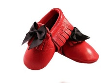 Red Bow Moccasins