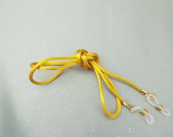 Gold Silky Eyeglass Cord