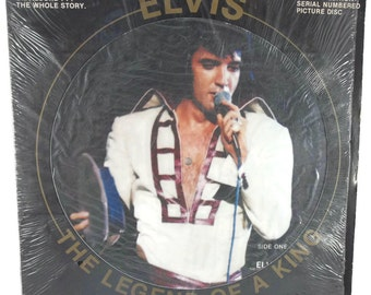 Elvis Presley The legend of a King Picture Disc Lp Us Import