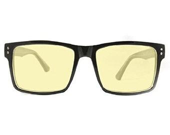 Oversized Retro Computer Glasses Retro Eyeworks Hollywood Thick Frame Vintage Style Eyewear