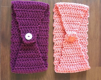 Crochet headwarmer/ear warmer