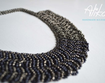 SILVER chain necklace by Alika