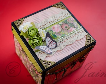 Explosion Box for any Occasion -  Photo Box, Memory Box