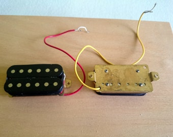 Electric guitar pickups set epiphone humbuckers