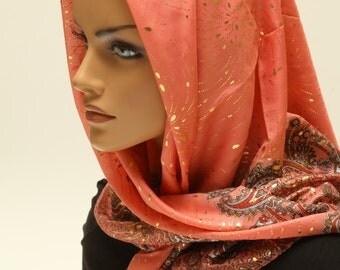 Head Wrap, Head Covering, Head Wraps For Women, Head Scarf Hair Wrap, Head Scarf, Tichel, Headwrap, Printed Scarf, Headscarves, Woman Scarf