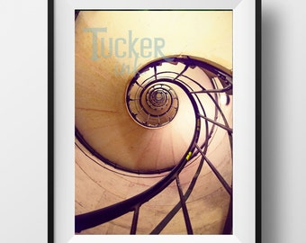 Spiral Staircase - Paris, France