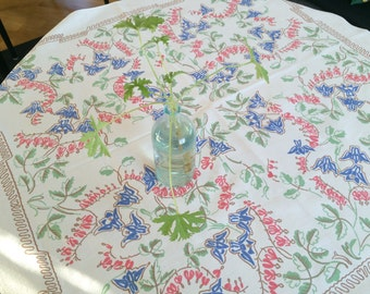 Lovely romantic tablecloth